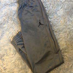 Jordan Boys Gray Sweatpants